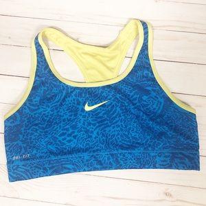Nike Dry Fit Sportsbra Size Large
